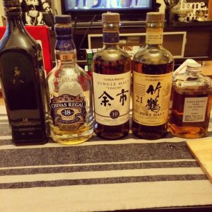 the modern day man - first whisky tasting
